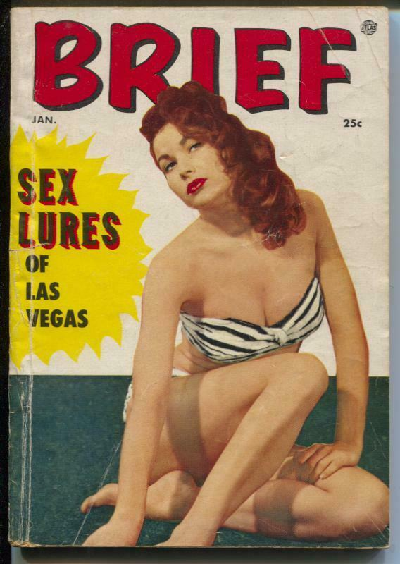 Brief 1/1955-Atlas-Eve Meyer-Maria Stinger-cheesecake pix-G-