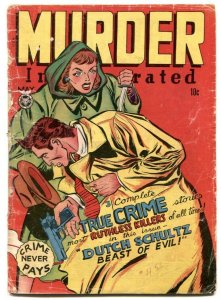 Murder Incorporated #3 1948- Fox golden age comics FR