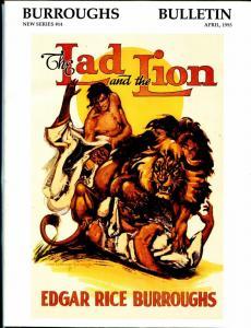 Burroughs Bulletin New Series #14 1993-ERB-Tarzan-John Coleman Burroughs-VF