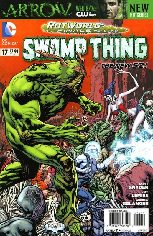 Swamp Thing (5th Series) #17 VF/NM; DC | save on shipping - details inside