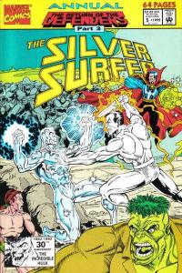 Silver Surfer (1987 series) Annual #5, NM- (Stock photo)
