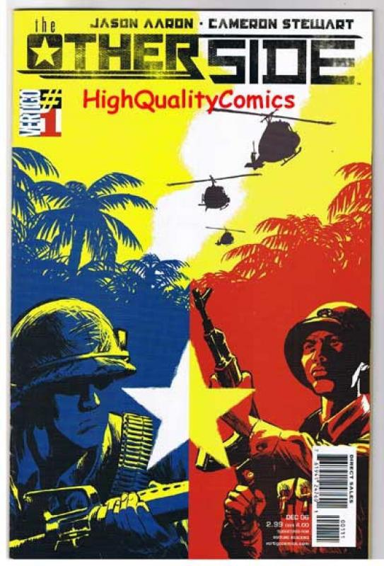 THE OTHER SIDE #1 2 3 4 5, NM+, Vietnam War, 2006, more Vertigo in store, 5 iss.