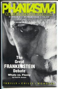 Phantasma #2 Winter 1988-1st issue-Frankenstein Phantom of  Opera-VF/NM