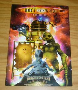 Doctor Who Exhibition 2005 VF brighton pier souvenir guide