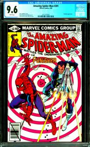 Amazing Spider-Man #201 CGC Graded 9.6 Punisher Appearance