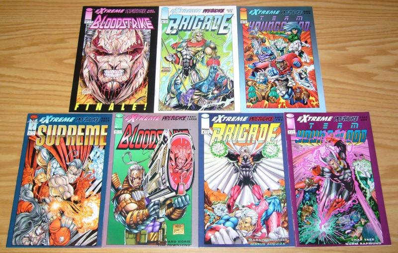 Extreme Prejudice #1-7 VF/NM complete series - youngblood - brigade  liefeld set