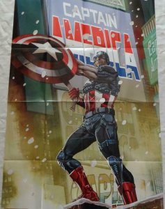 CAPTAIN AMERICA Promo Poster, 24 x 36, 2013, MARVEL Unused more in our store 297
