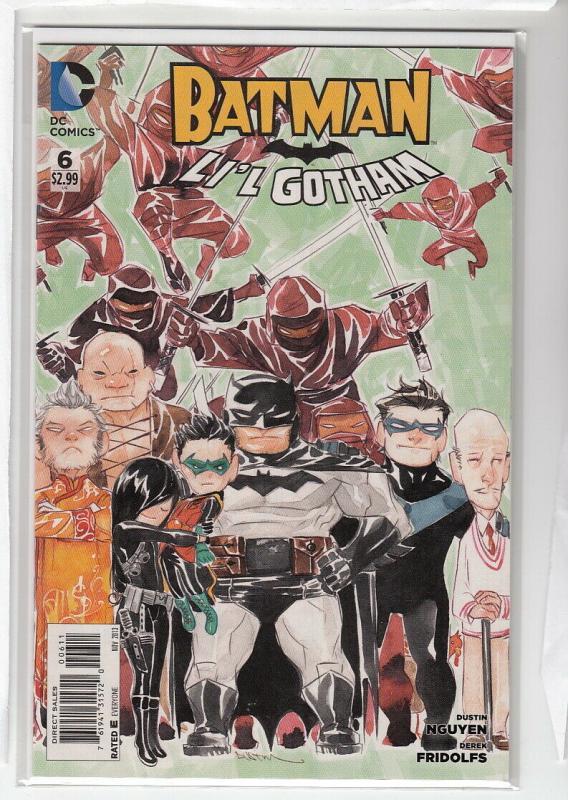 BATMAN LIL GOTHAM (2013 DC) #6 NM- A93975