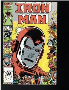 Iron Man #212 (1986)