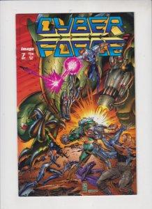 CYBER FORCE V2 #7 1994 IMAGE   /   DIRECT SALES