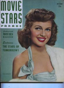 Movie Stars Parade-Rita Hayworth-Ingrid Bergman-Paul Henried-Oct-1948