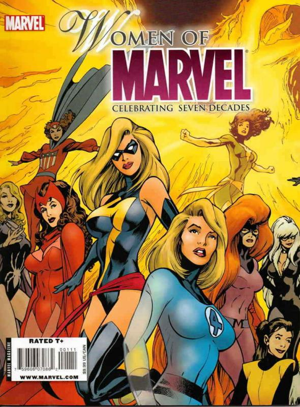 Women Of Marvel: Celebrating Seven Decades #1B VG; Marvel | low grade comic - sa