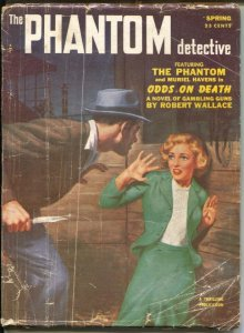 Phantom Detective-Spring 1963-Thrilling-next to last issue-end of hero pulps-G