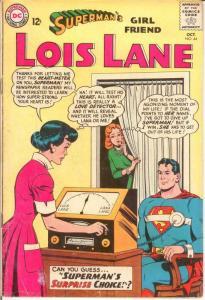 LOIS LANE 44 G-VG Oct. 1963 COMICS BOOK
