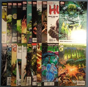 Lot of 21 Incredible Hulk 2nd Series Comics Deadpool Spider-Man
