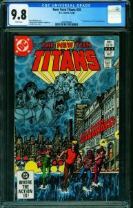 The New Teen Titans #26 cgc 9.8 First TERRA 1982 2026358020