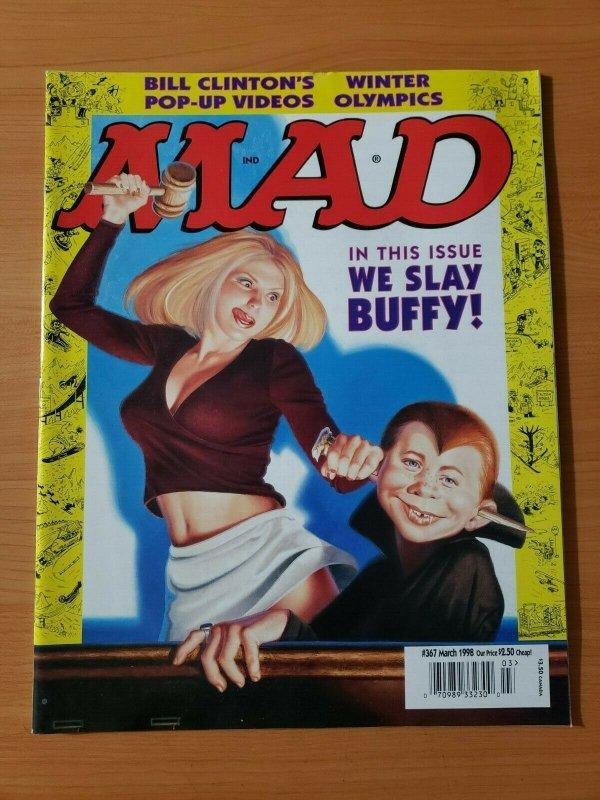Mad Magazine #367 ~ NEAR MINT NM ~ March 1998