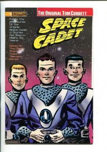 TOM CORBETT. SPACE CADET-#1-1990-ETERNITY-RAY BAILEY-REPRINTS-vf