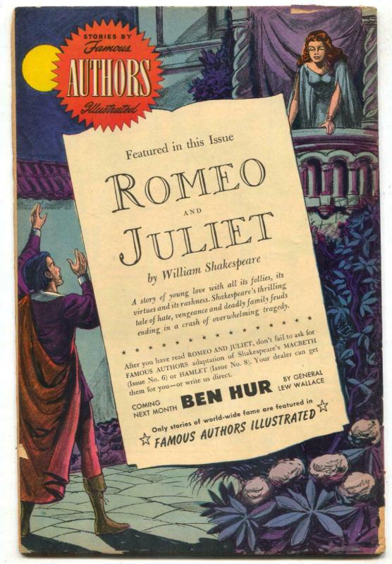 Stories by Famous Authors Illustrated #10 1950- ROMEO