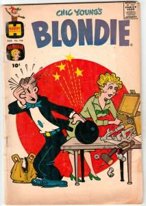 Blondie #146 (Aug-61) GD Affordable-Grade Blondie and Dagwood Bumstead