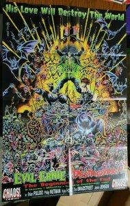 LARGE 36 x 24 Evil Ernie Destroyer Comics Promo Poster NO PIN HOLES NEW