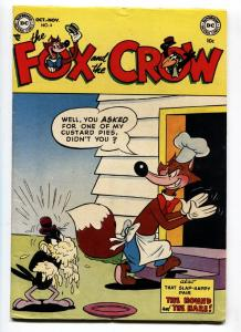 The Fox and the Crow #6 1952- DC Early issue-High Grade VF
