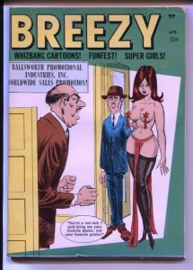 Breezy  4/1970-Timely-Bill Ward-cheesecake pix-FN