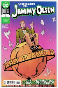 Superman's Pal Jimmy Olsen #12 Main Cvr (DC, 2020) NM