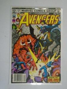 Avengers #226 Newsstand edition 6.0 FN (1982 1st Series)