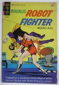 MAGNUS  ROBOT FIGHTER 29  (Gold Key, 11/1971) GOOD (G) COMICS BOOK