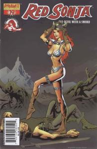 Red Sonja (Dynamite) #19B VF; Dynamite | save on shipping - details inside