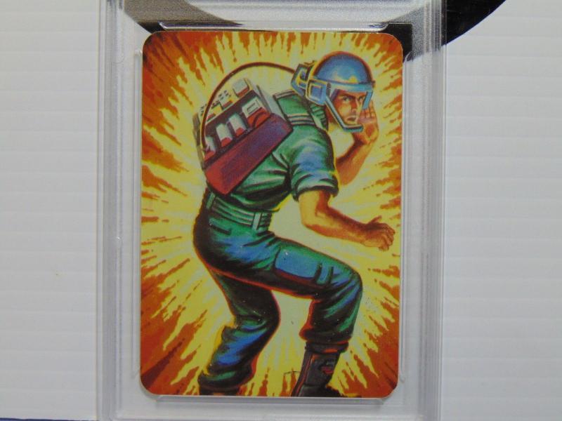 1986 Hasbro GI Joe Breaker Series #1 Card #6 - Graded NM-MT+ 8.5