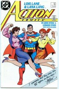 Action Comics 597 Feb 1988 NM- (9.2)