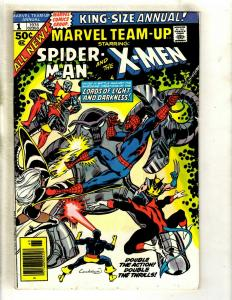 Marvel Team Up Annual # 1 VF- Comic Book Feat. X-Men Spider-Man Wolverine GK4