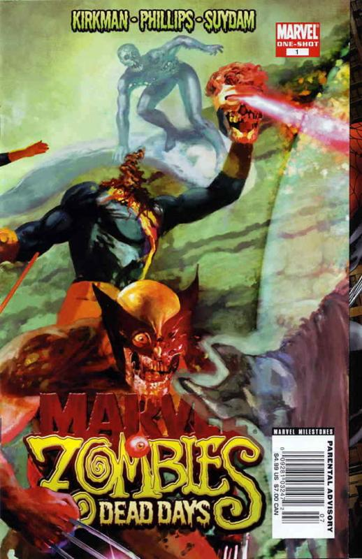Marvel Zombies: Dead Days #1 VF/NM; Marvel | save on shipping - details inside
