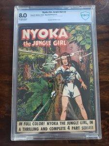 Nyoka the Jungle Girl 2 CBCS 8.0 (Manufacturing Error)