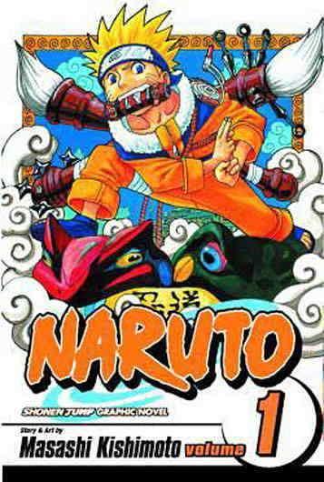 Image result for naruto volume 1