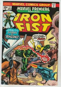Marvel Premier #17 (Jul-74) VF/NM High-Grade Iron Fist