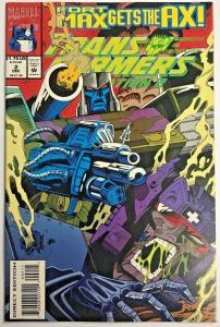 TRANSFORMERS GENERATION II#2 VF/NM 1993 MARVEL COMIC