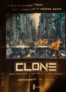 CLONE  Promo Poster, 18 x 24, 2012, IMAGE Unused more in our store 431