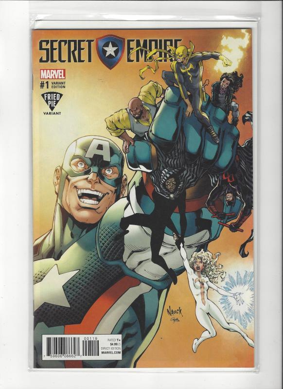 Secret Empire #1 Marvel Comics Fried Pie Variant NM