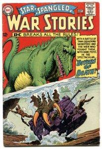 Star Spangled War Stories #122 1965- Dinosaur-Russ Heath F/G