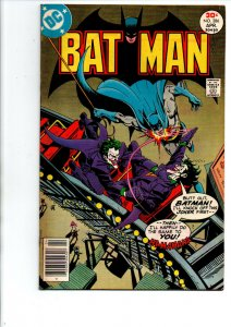 Batman #287 newsstand - Joker cover - 1977 - Fine/Very Fine