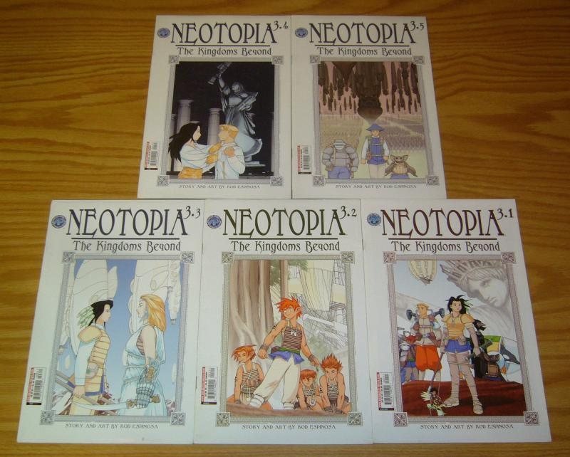 Neotopia vol. 3: the Kingdoms Beyond #1-5 VF/NM complete series - rod espinosa