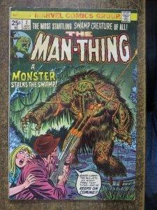 MAN THING  7 G July 1974 Marvel COMICS BOOK