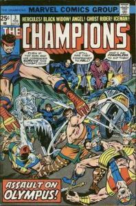 Champions (1975 series) #3, VF+ (Stock photo)