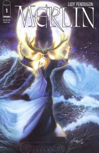 MERLIN #1, NM-, Lady Pendragon, Image, 2000  more in store