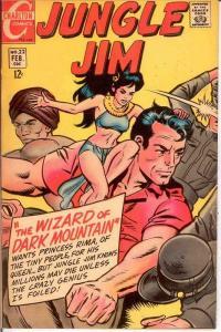 JUNGLE JIM (1969-1970 CH) 22 FINE DITKO/WOOD  Feb. 1969 COMICS BOOK