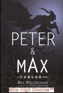 PETER AND MAX: A FABLES NOVEL HC (2009 Series) #1 Near Mint