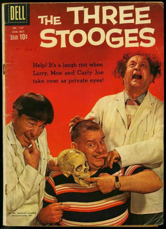 Four Color Comics #1127- The Three Stooges- Photo cover VG